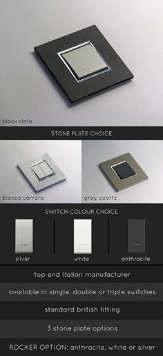 <span style='color: #000000;'>Stone Light Switches (123G)</span>