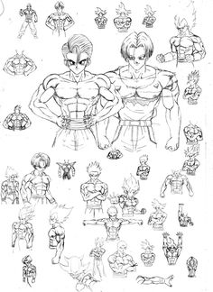 training to draw muscular back and other things.