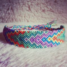 Friendship Bracelet by #rebeccaderas on #Etsy --- #friendshipbracelet