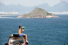 A maioria das nossas invenções vem daqui. Da cidade paraíso que é o Rio de Janeiro. #dobem