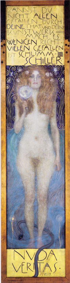 Gustav Klimt / Nuda Veritas. 1899
