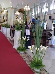 Image result for flowers on church pillars Aisle Decorations, Floral Designs, Inspirational, Weddings, Flowers, Plants, Image, Wedding, Plant