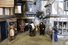 Tiny Treasures: Diagon Alley ~ In Daylight