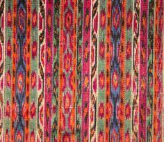 Persian Velvet Ikat 68 x 88 cm