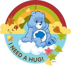 Too many negativity to wake up to and deal with even before my cup of coffee. I need a hug, not judgement. Grumpy Care Bear, Bear Tumblr, Barbie Cartoon, Care Bear Party, I Need A Hug, Disney Pixar Movies, Mindfulness For Kids, Watch Cartoons, Classic Cartoons