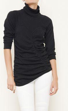 Catherine Malandrino Black Sweater