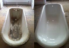Tub Paint, Painting Bathroom Tiles, Painting Bathtub, Tub Tile, Clawfoot Tub Bathroom, Diy Bathtub, Bathrooms, Bathtub Repair, Bathtub Refinishing
