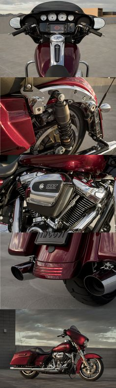 The world standard for the stripped-down, hot rod look. The all-new Milwaukee-Eight 107 engine backs up the look with massive torque. The ride is unmatched as well thanks to the all-new suspension, and Reflex Linked Brembo brakes. | 2017 Harley-Davidson Street Glide Special #harleydavidsonfatboy2017 #harleydavidsonfatboybaggers #harleydavidsonstreetglide2017 #harleydavidsonstreetglidespecial