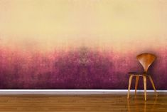 Purple Ombre Haze Wall Mural