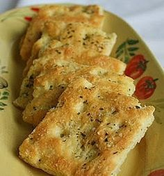 Jane's Sweets & Baking Journal: Herb & Olive Oil Focaccia . . . One Bowl, No Mixer, No Kneading, No Kidding!