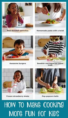 How to make cooking more fun for kids