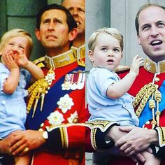 #PrinceCharles #holding #PrinceWilliam and PrinceWilliam holding #PrinceGeorge and the line of #royalsuccession continues on Word ......Do you #think that PrinceCharles will ever become #king ??? Or do you think it will go to PrinceWilliam? #KessingtonPalace #BuckinghamPalace