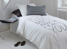 Home wit/zwart > House in Style > dekbedovertrek Morpheus Beddengoed