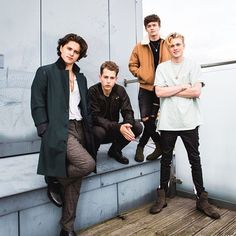 Bradley, James, Connor and Tristan form the VAMPS❤️❤️ Bradley Will Simpson, Brad Simpson, Brad The Vamps, New Hope Club, 1d And 5sos, Celebs, Celebrities, T Rex, Cool Bands