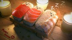 Wallpaper-Pham-Anh-Vu-Sushi-Christmas.jpg 1.920×1.080 pixels