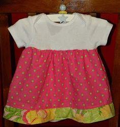 A Load Of Craft: Onesie Dress