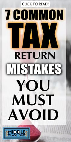 We all hate tax time. We put it off, then hurry to finish. To keep as many hard earned bucks as you can, avoid these common tax return mistakes, is a . Small Business Organization, Financial Organization, Tax Refund, Tax Deductions, Donation Tax Deduction, Income Tax, Finance Tips, Money Saving Tips