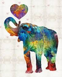 Image result for elephants painting