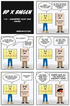 BP vs #BMGen 1.14 Answer What Asked @ BMGenComics  #custdev #leanstartup http://materiais.bmgenbrasil.com/bmgen-comics-en
