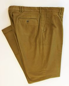 """""""Barbour of England Suede Moleskin Pleated Trousers"""" Sz: 38""""W"""