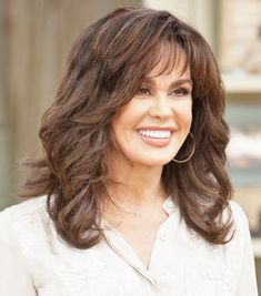 Marie Osmond, Cut And Color, Layers, Long Hair Styles, Beauty, Layering, Long Hairstyle, Long Haircuts, Long Hair Cuts
