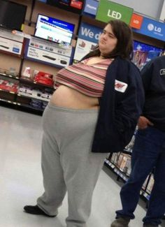 Awesome Funny People of Walmart In Weird Outfits