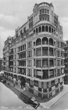 فندق المتروبوليتان في القاهرة 1930