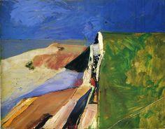 rompeolas de Richard Diebenkorn (1922-1993, United States)