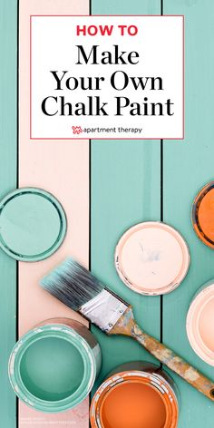 Why You Should Add Baking Soda to Latex Paint is part of Diy chalk paint recipe - A whole new world of paint will open up to you Diy Chalk Paint Recipe, Make Chalk Paint, Homemade Chalk Paint, Chalk Paint Colors, Chalk Paint Projects, How To Make Paint, Chalk Paint Furniture, Furniture Design, Make Chalkboard Paint