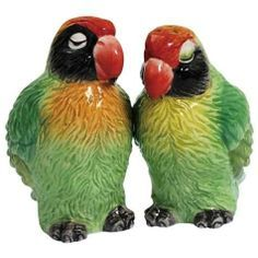 parrot salt and pepper shakers - Google Search