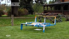 FAA's rules requiring human operations of drone delivery are standing in the way.