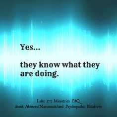 Alienators know what they are doing and enjoy trying to make the target suffer