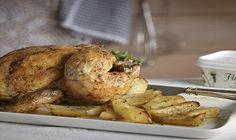 Απολαυστική συνταγή για Κοτόπουλο φούρνου λεμονάτο με πατάτες που θα το αγαπήσουν όλοι!