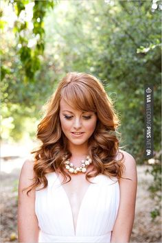 Like this! - wedding hair | CHECK OUT MORE IDEAS AT WEDDINGPINS.NET | #weddings #hair #weddinghair #weddinghairstyles #hairstyles #events #forweddings #iloveweddings #romance #beauty #planners #fashion #weddingphotos #weddingpictures