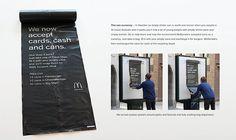 O #McDonald's na Suécia, em parceria com a agência de publicidade #DDB de Estocolmo, criou um projecto único de incentivo...