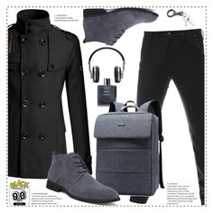 Gamiss Black Friday by duma-duma on Polyvore featuring Master & Dynamic, Chanel, men's fashion, menswear and gamiss