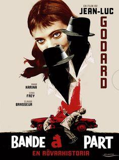 Bande à part - 1964. Um dos melhores filmes de Godard, contraventor até dentro do Louvre.