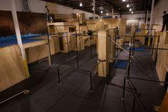 foam pit trampoline more dream gym man parkour gyms gym parkour arts