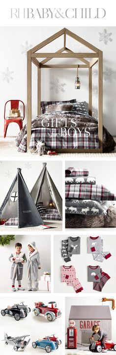 Make your little one's dreams come true with an array of wondrous holiday gifts for boys from RH Baby & Child. Outdoor Daybed, Baby Nursery Themes, Bedroom Night, Patio Makeover, Holiday Gifts, Holiday Decor, New Room, Xmas Decorations, Gifts For Boys