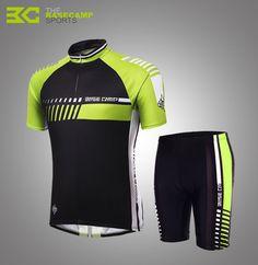 BASECAMP Men's&Women's Cycling Jersey Suit Summer New Lightweight Lycra fabric Cycling Jersey Short Sleeve Set