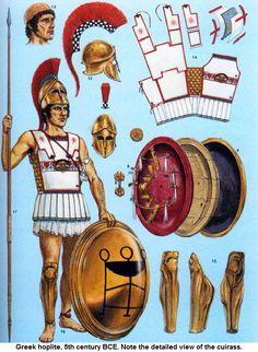 illustration of adam hook showing a athenian greek warrior greek warrior 2 Greek History, Ancient History, Greek Soldier, Greek Warrior, Warrior 2, Classical Greece, Ancient Armor, Armadura Medieval, Roman Soldiers