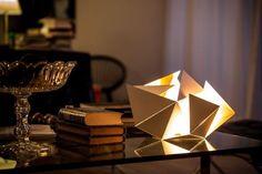 Savitljiva origami lampa - Moj Enterijer – Kupatila, Nameštaj, Kuhinje, Garniture...