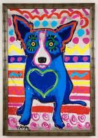 I heart blue dog!