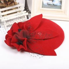 woolen gauze headdress Topper Bowler Hat, Headdress, Hats, Hat, Fascinators, Headpiece, Hipster Hat, Cowls
