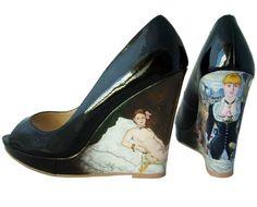 French art heels