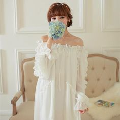 High-grade chiffon nightdress Retro style princess nightgowns $59.30   => Save up to 60% and Free Shipping => Order Now! #fashion #woman #shop #diy  http://www.homeclothes.net/product/high-grade-chiffon-nightdress-retro-style-princess-nightgowns