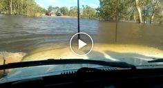 Jipe Mostra Incrível Resistência Depois De Ficar Submerso Na Água