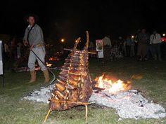 Fiesta del costillar a la estaca - Tabossi, Entre Ríos