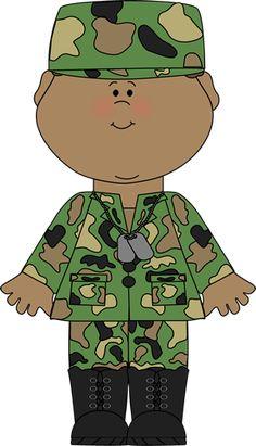SOLDIER BOY CLIP ART