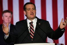 HOUSTON, TX - MARCH 15: Republican presidential candidate Sen. Ted Cruz (R-TX) speaks at a watch party on March 15, 2016 in Houston, Texas. Cruz is in a tight race with Donald Trump in the Missouri GOP primary, while Trump took Florida, North Carolina, and Illinois. Gov. John Kasich won his home state of Ohio.